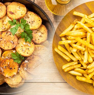 Patatas fritas o Asadas en Sant Andreu de la Barca